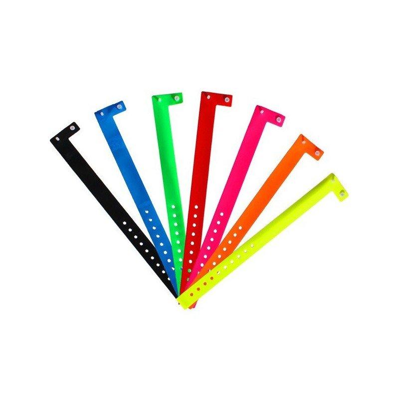 Bracelets vinyle larges