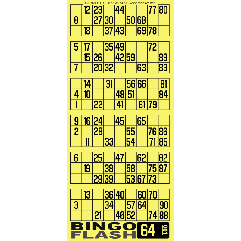 bingo flash