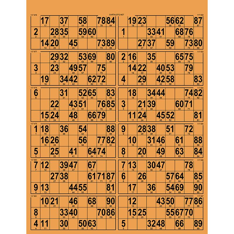 42 Planches de 12 grilles