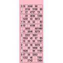 84 Planches de 6 grilles