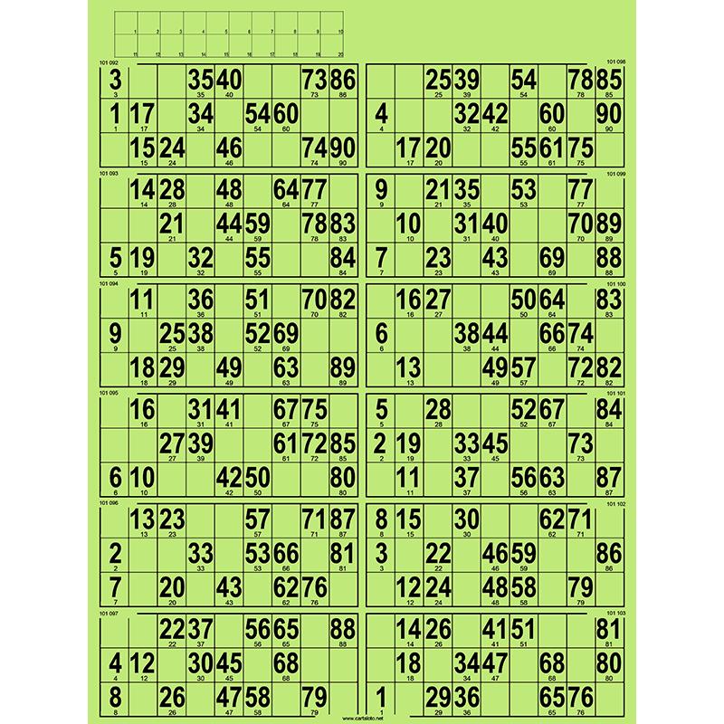 42 planches de 12 grilles à tamponner