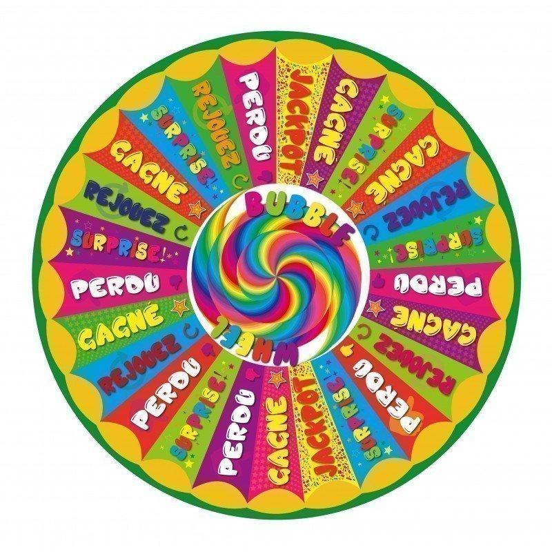 """Modèle """"Bubble Wheel"""" - BALLE MOBILE - 120 CM"""