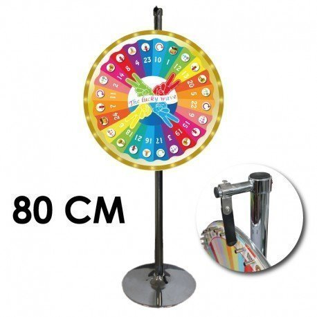 Roue de loterie 80CM the lucky wave