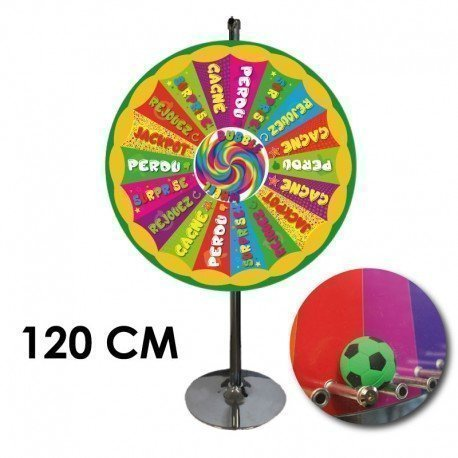 "Modèle ""Bubble Wheel"" - BALLE MOBILE - 120 CM"