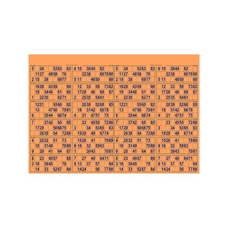 21 Planches de 24 grilles