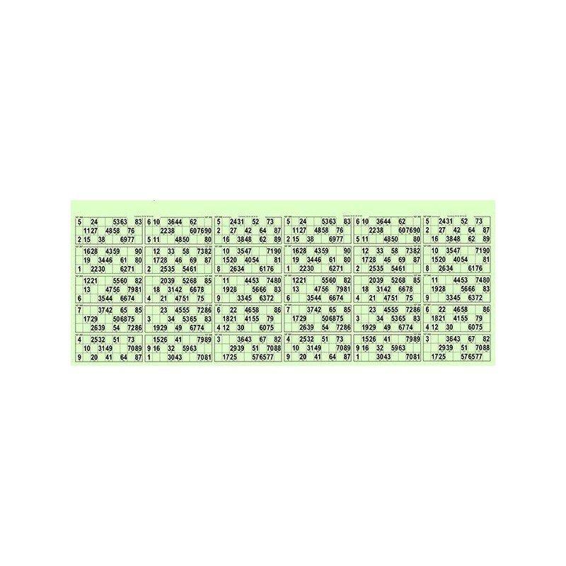 17 Planches de 30 grilles