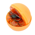 6 Boules de loto magnétiques