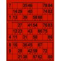167 planches de 3 grilles Grand Format