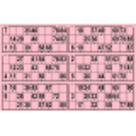 84 planches de 6 grilles Grand Format