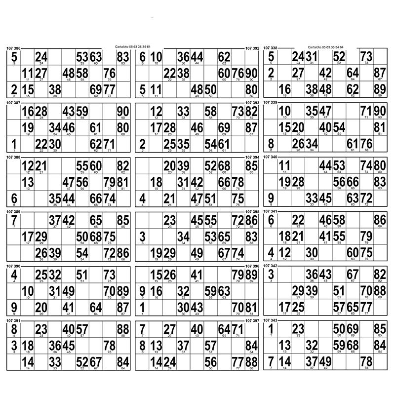 28  Planches de 18 grilles