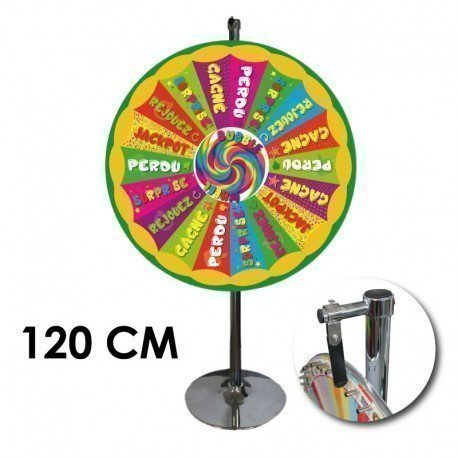 Roue de loterie Cartaloto modèle bubble wheel