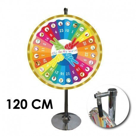 Roue de loterie The lucky waves  120 CM