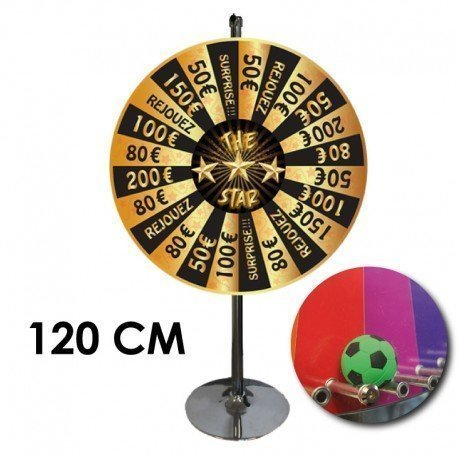 Roue de loterie The Star Cartaloto