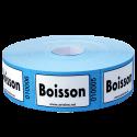 """Rouleaux de 1000 tickets """"Boisson"""""""