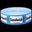 "Rouleaux de 1000 tickets ""Sandwich"""