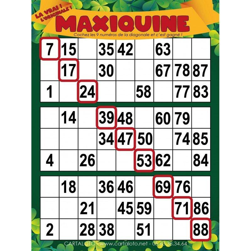 Maxiquine 3 grilles