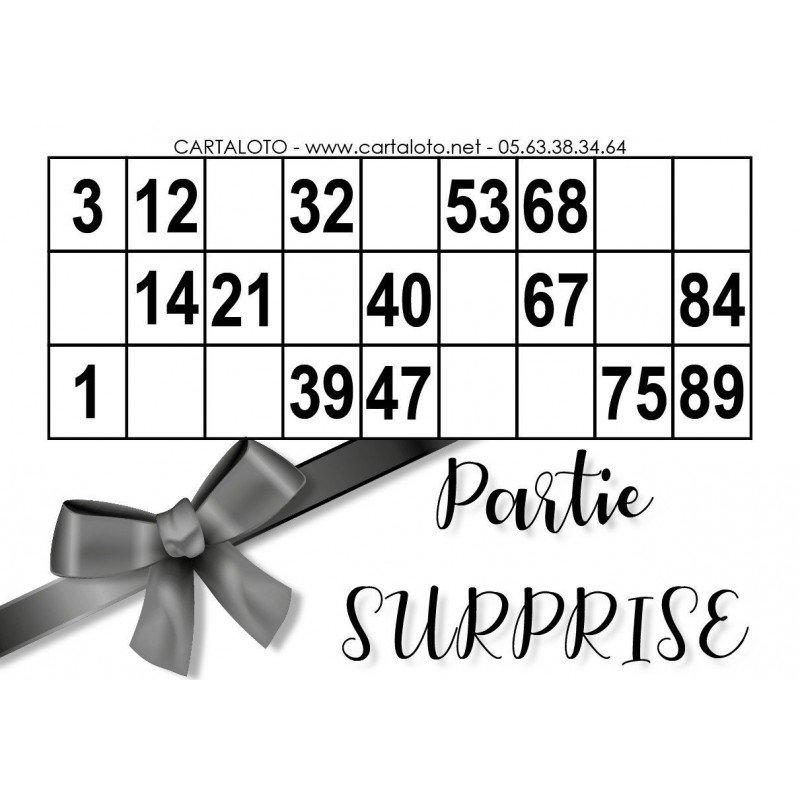 Partie Surprise
