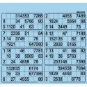 63 Planches de 8 grilles