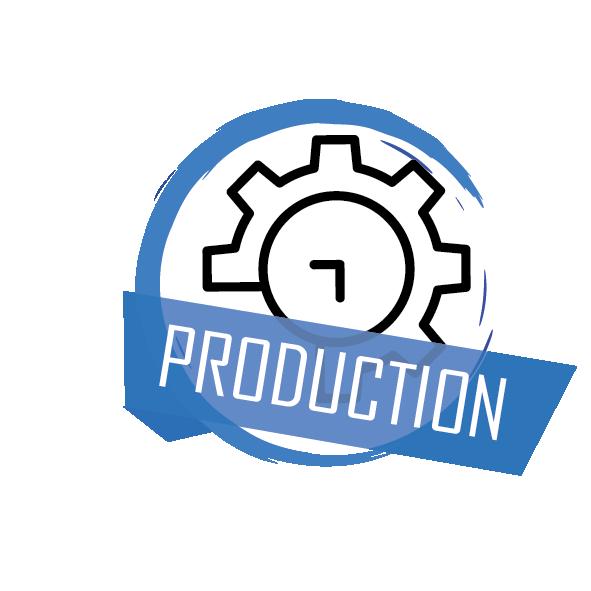 Délais de production de 4 à 8 jours